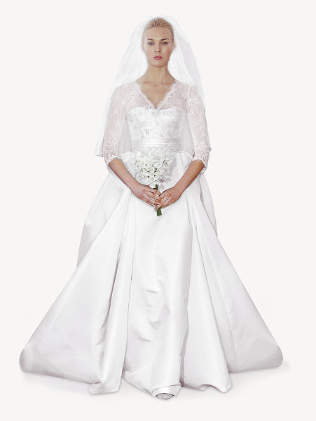 abiti da sposa 2014 Carolina Herrera