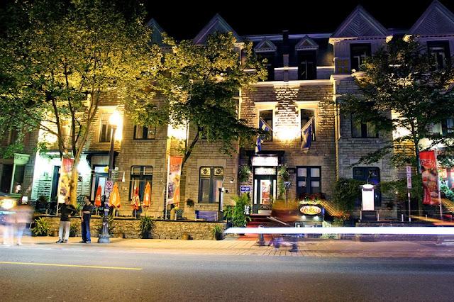 Grand Allée em Quebec City