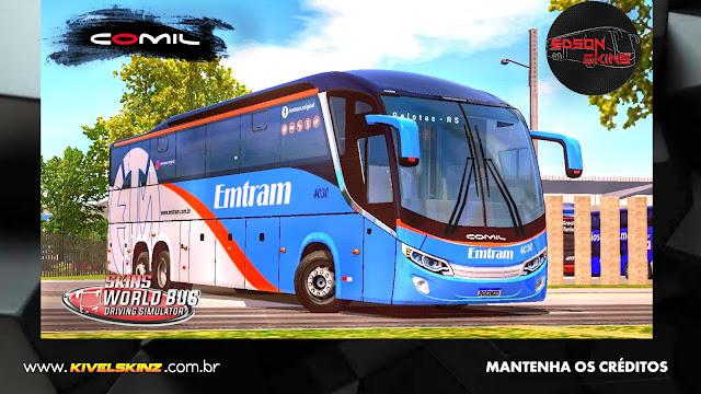 COMIL 1200 6X2 - VIAÇÃO EMTRAM