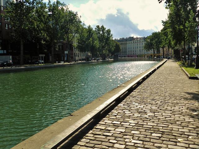 Canal St-Martin parigi