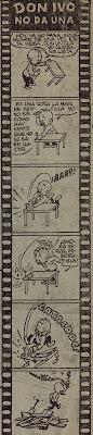 Nadal dibujó en varios números de Pulgarcito a Don Ivo