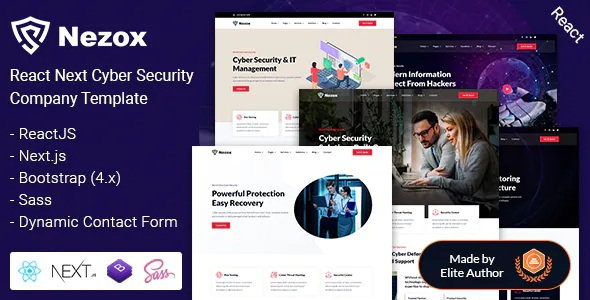 Best Cyber Security Company Template
