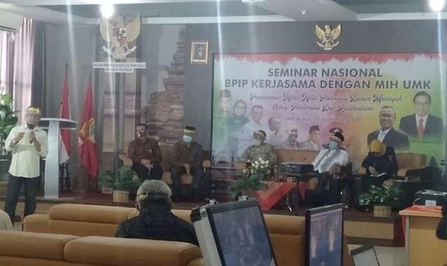 Seminar Nasional BPIP,  (Ipda) Subekhan : Perang Lawan Ancaman Radikalisme dan Intoleranisme