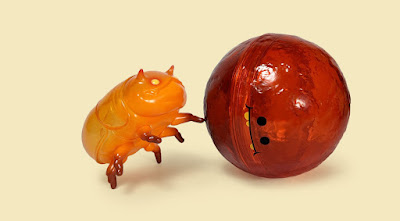 Dungby & Pooba Fire Ball Edition Soft Vinyl Figure Set by Andrew Bell