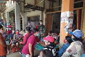 Sinergitas TNI Polri Amankan Bantuan Penyaluran Paket Kartu Keluarga Sejahtera Bantuan Pangan Non Tunai