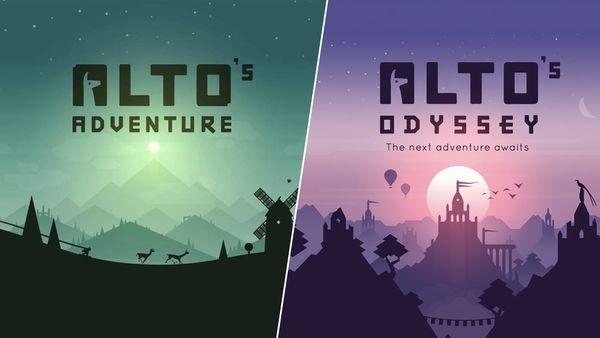 Nhanh tay tải về Alto's Adventure và Alto's Odyssey đang được miễn phí trên App Store