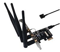Scheda Abwb 802.11 ac Wi-Fi con Bluetooth 4.0