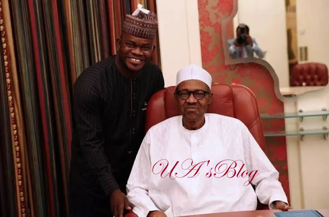 Yahaya Bello: Buhari is not a dictator… he allows democracy even in his home