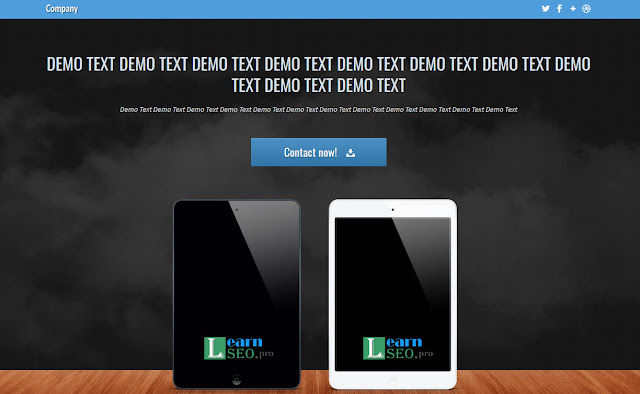 cloudymob html5 free template