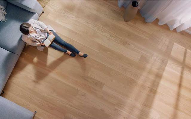 Kenyamanan lantai hunian minimalis