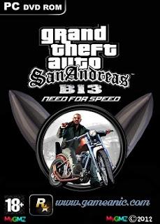 GTA San Andreas B-13 NFS Game