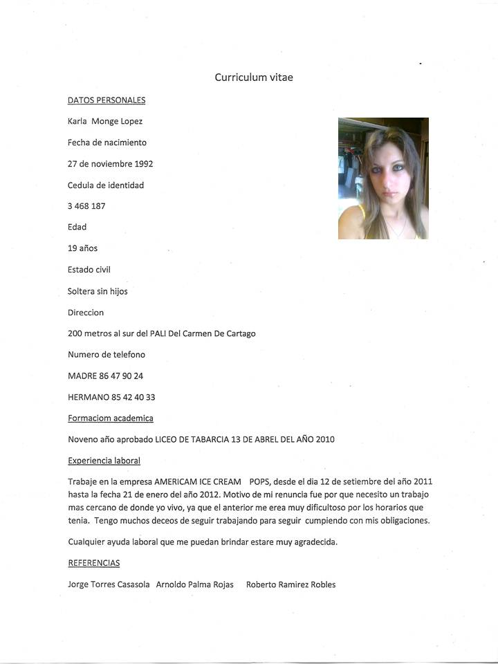 Formatos De Cv 2015 Elita Mydearest Co