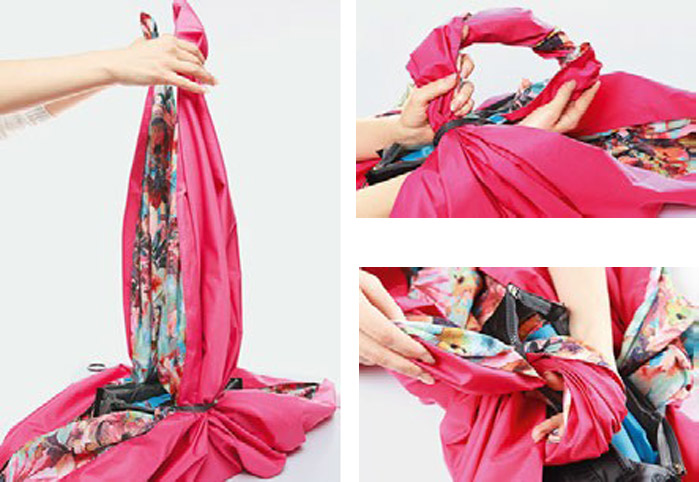 Bag of scarf tutorial