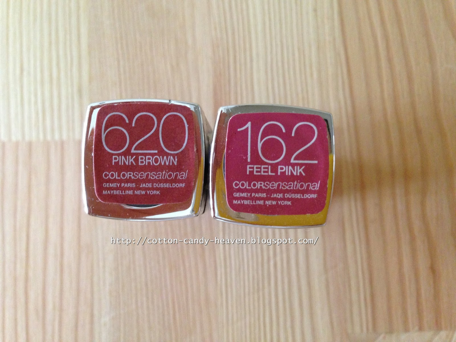 Thank God For Beautiful Things Maybelline Colorsensational Rujlar