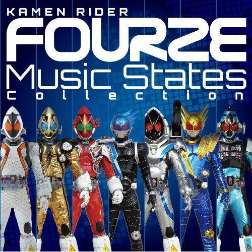 Iam Rider Song Dwenlod: [CD + DVD] Kamen Rider Fourze Music States Collection