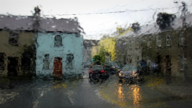 Galway city, all wet in the rain