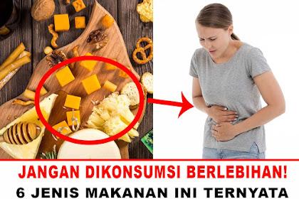 6 Makanan yang dapat menyebabkan Usus Buntu, harus diwaspadai !