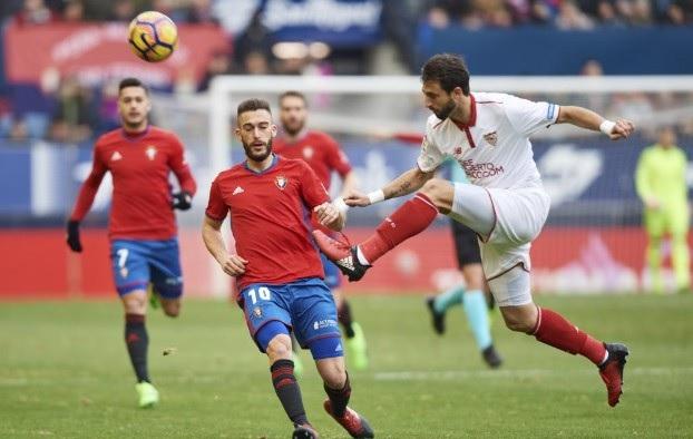 Sevilla vs Osasuna en vivo