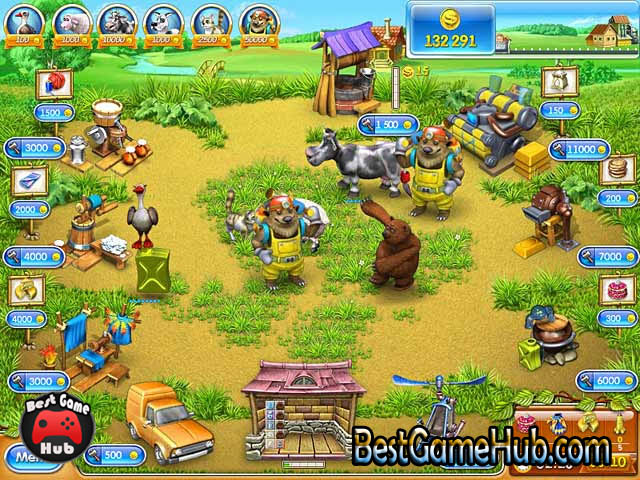 Farm Frenzy 3 Russian Roulette PC Repack Game Free Download