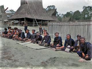 kepala dan pemimpin masyarakat batak puak karo di kabanjahe