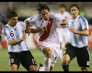 Perú 1-1 Argentina 2008: Con los huevos de Vargas