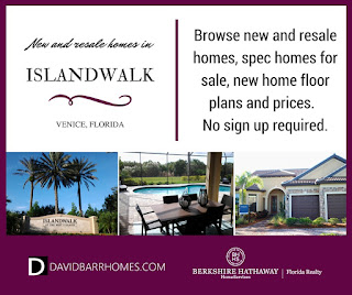 Islandwalk Venice FL new homes for sale