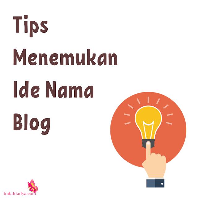 Tips Ide Nama Blog