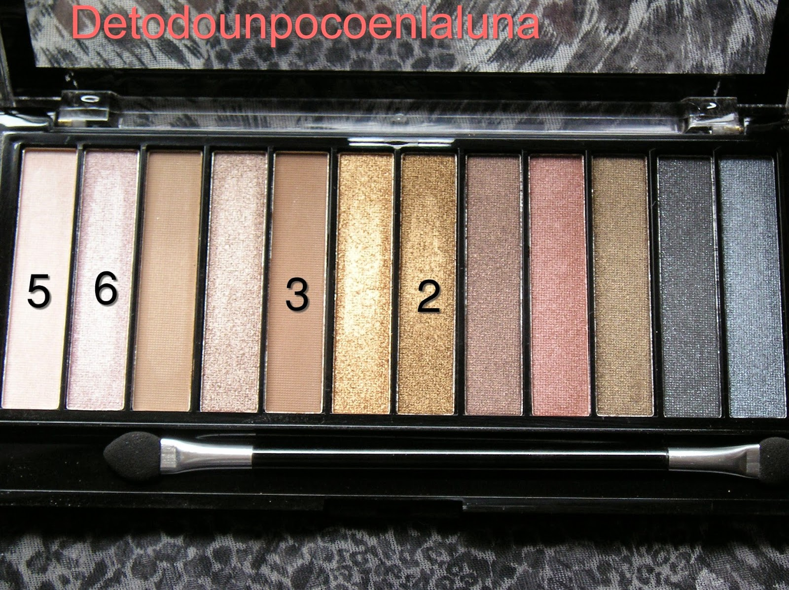 paleta iconic 1 makeup revolution