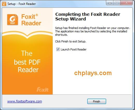 Cài đặt Foxit Reader Full mới nhất trên máy tính 9