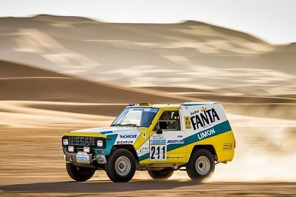 Nissan Patrol-Fanta Dakar