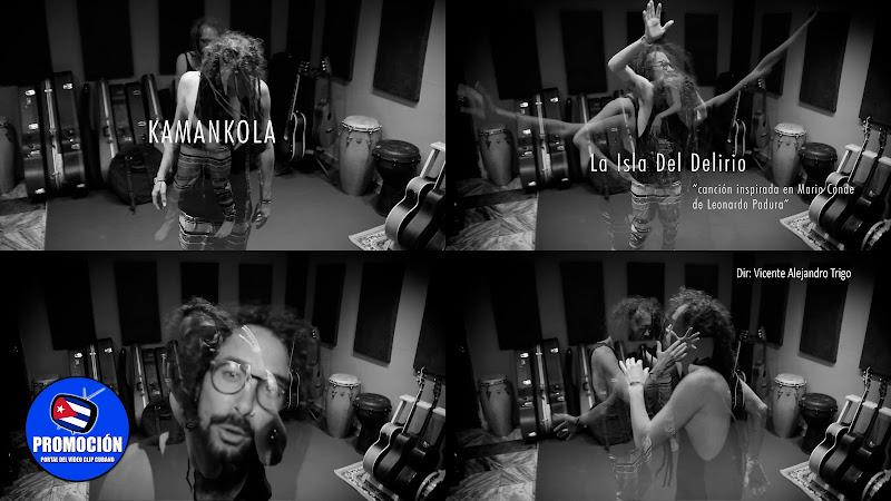 Kamankola - ¨La Isla del Delirio¨ - Videoclip - Director: Vicente Alejandro Trigo. Portal Del Vídeo Clip Cubano. Música cubana. Canción. Cuba.