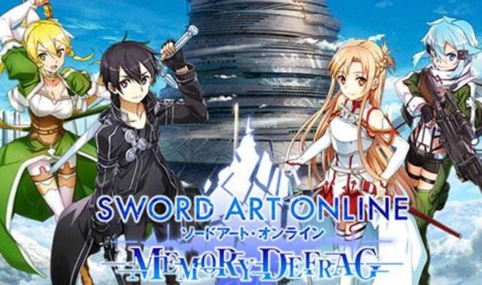 Game Adaptasi Anime Terbaik untuk Android - Sword Art Online: Memory Defrag