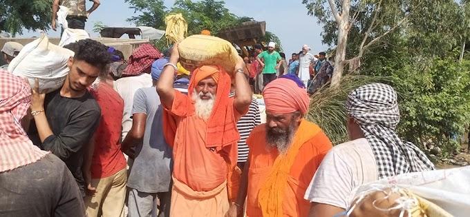 Sant Samaj under the leadership of Sant Seechewal took charge to force the Bundh -with the jaap of Satnaam Waheguru sewa of the Bundh is continuing.