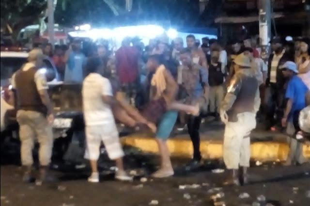 CASO FEIRA XIQUE DE NATAL DE BONFIM: SEM SEGURANÇA PUBLICA E SEM ORGANIZAÇÃO (?)
