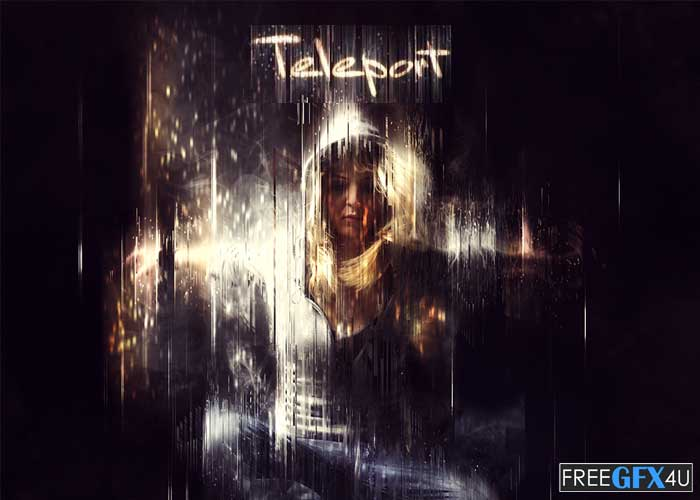Teleport CS6+ Photoshop Action