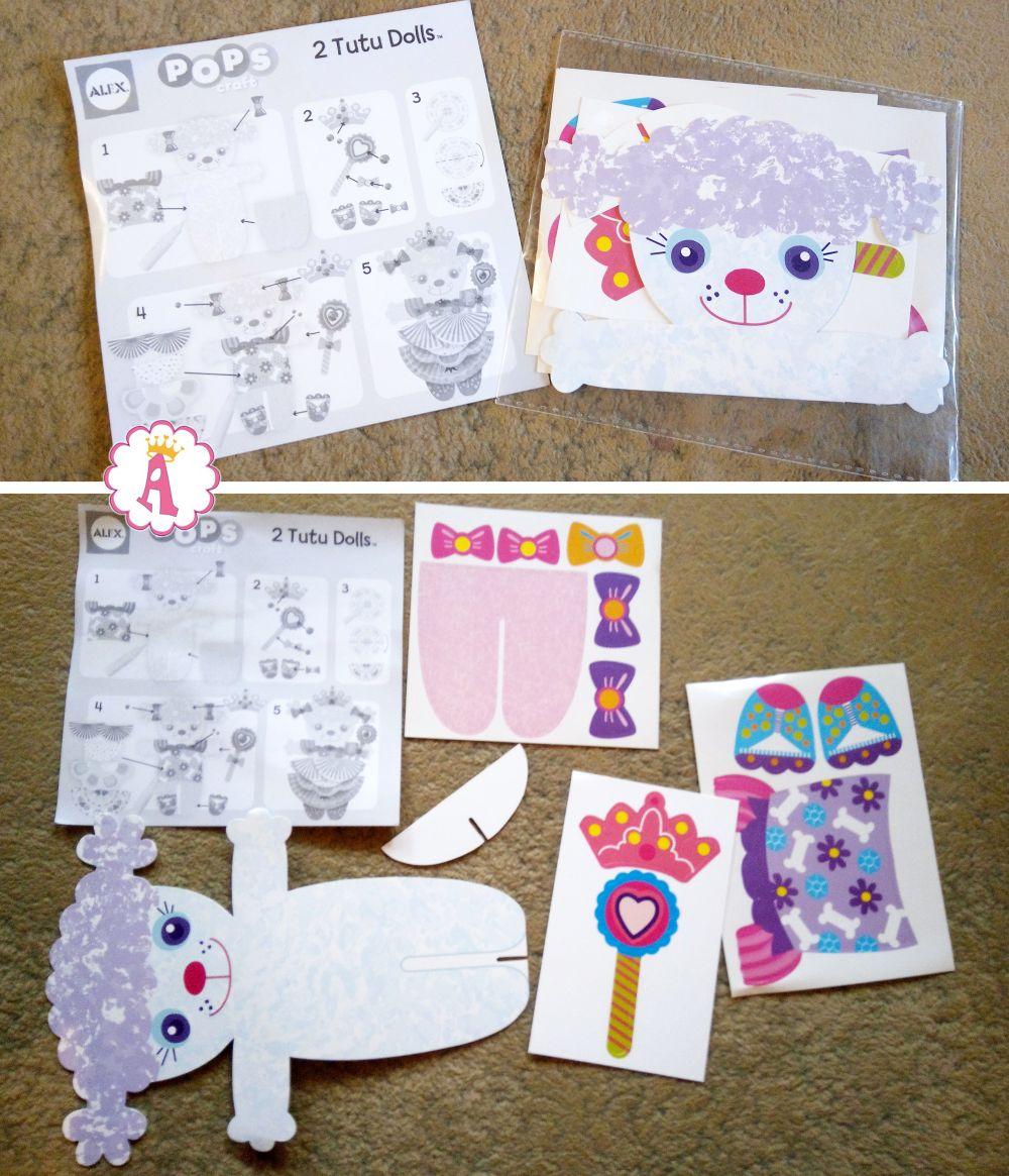 Творчество для детей Alex Toys Craft Tutu Dolls DIY