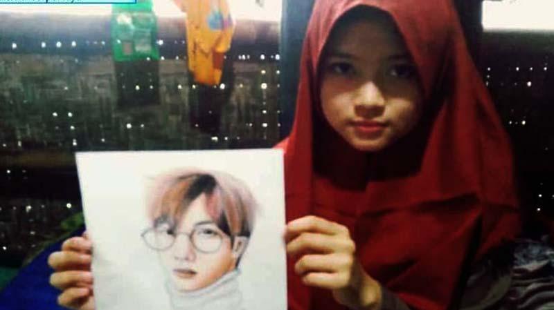Kemendikbud Imbau Disdik Sukabumi Bantu Gadis Jago Gambar yang Putus Sekolah