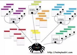 cara kerja bot spider