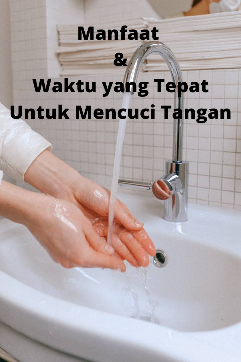 Ada 5 momen cuci tangan