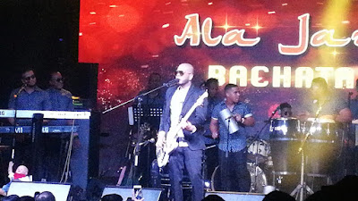 Ala Jaza  a casa llena en Hard Rock Cafe