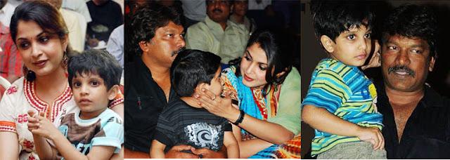 Ramya Krishnan Family Photo