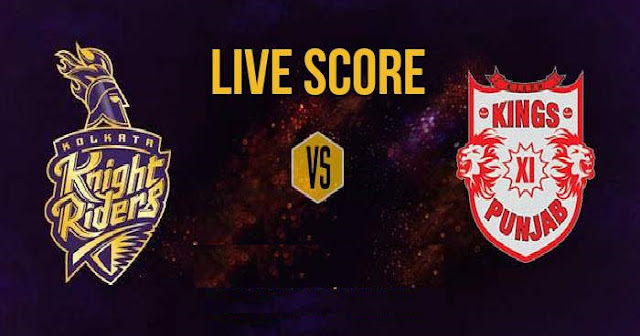 IPL 2018 Match 18 KKR vs KXIP Live Score and Full Scorecard