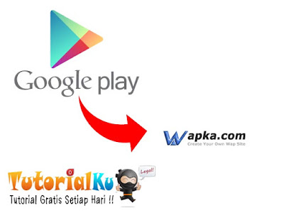 Cara Import File APK Google Play Store Ke Wapka