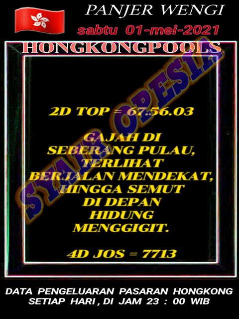 GAMBAR SYAIR TOGEL HONGKONG