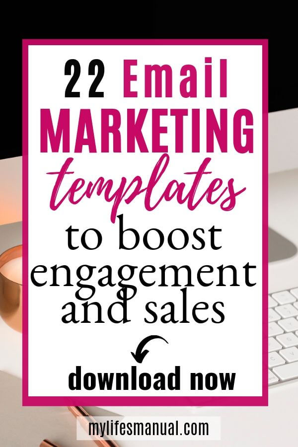 Email Marketing Templates for Bloggers