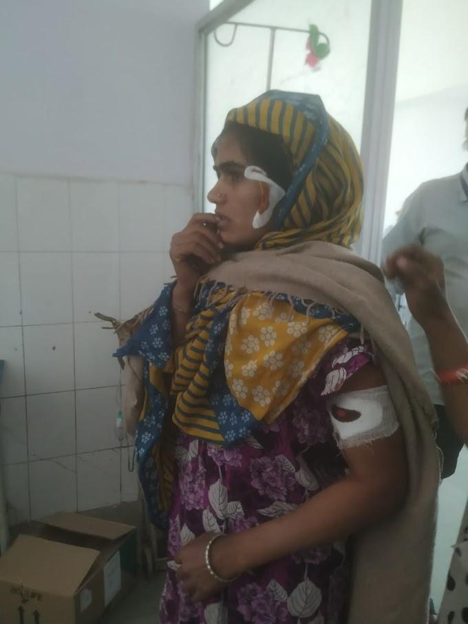 तेंदुए के हमले में एक बालिका और एक महिला घायल @राजेश जयंत