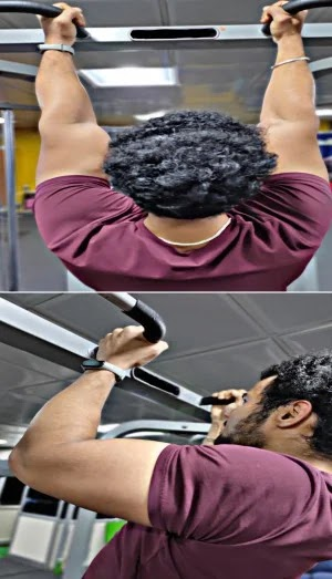Best Exercises For Biceps, chin up exercise