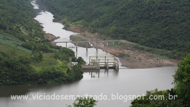 Vista da Hidrelétrica 14 de Julho, Cotiporã, Serra Gaúcha