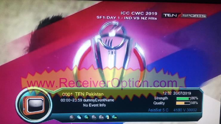 OPENBOX GENIUS PLUS HD RECEIVER TEN SPORTS OK NEW UPDATE