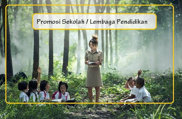 promosi sekolah secara online